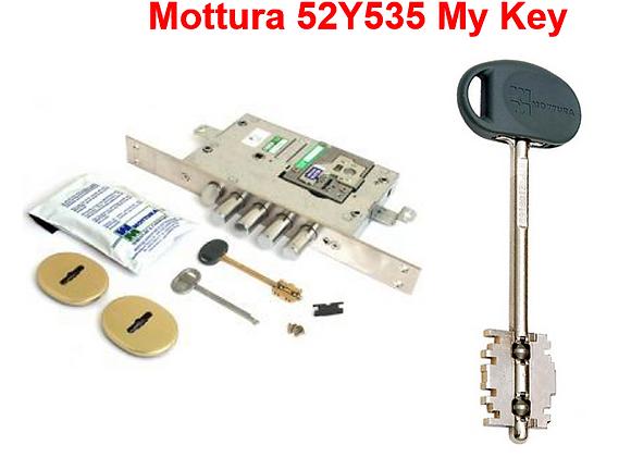 Mottura 52Y535 My Key сувальдный с перекодировкой