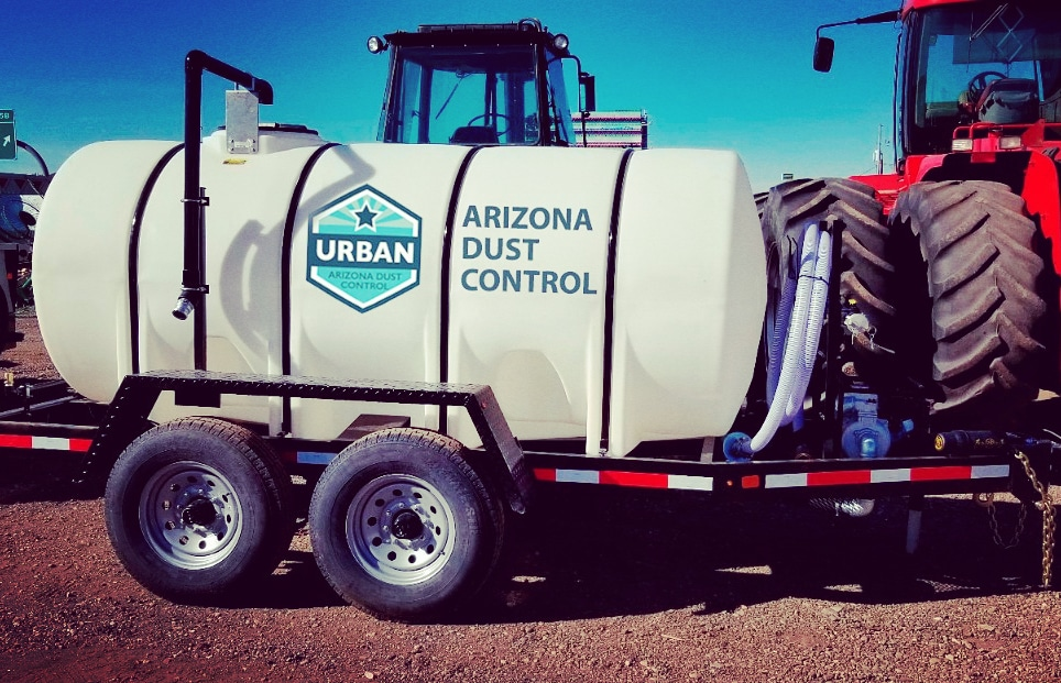 Arizona Dust Control Water Trailer 1000 gal
