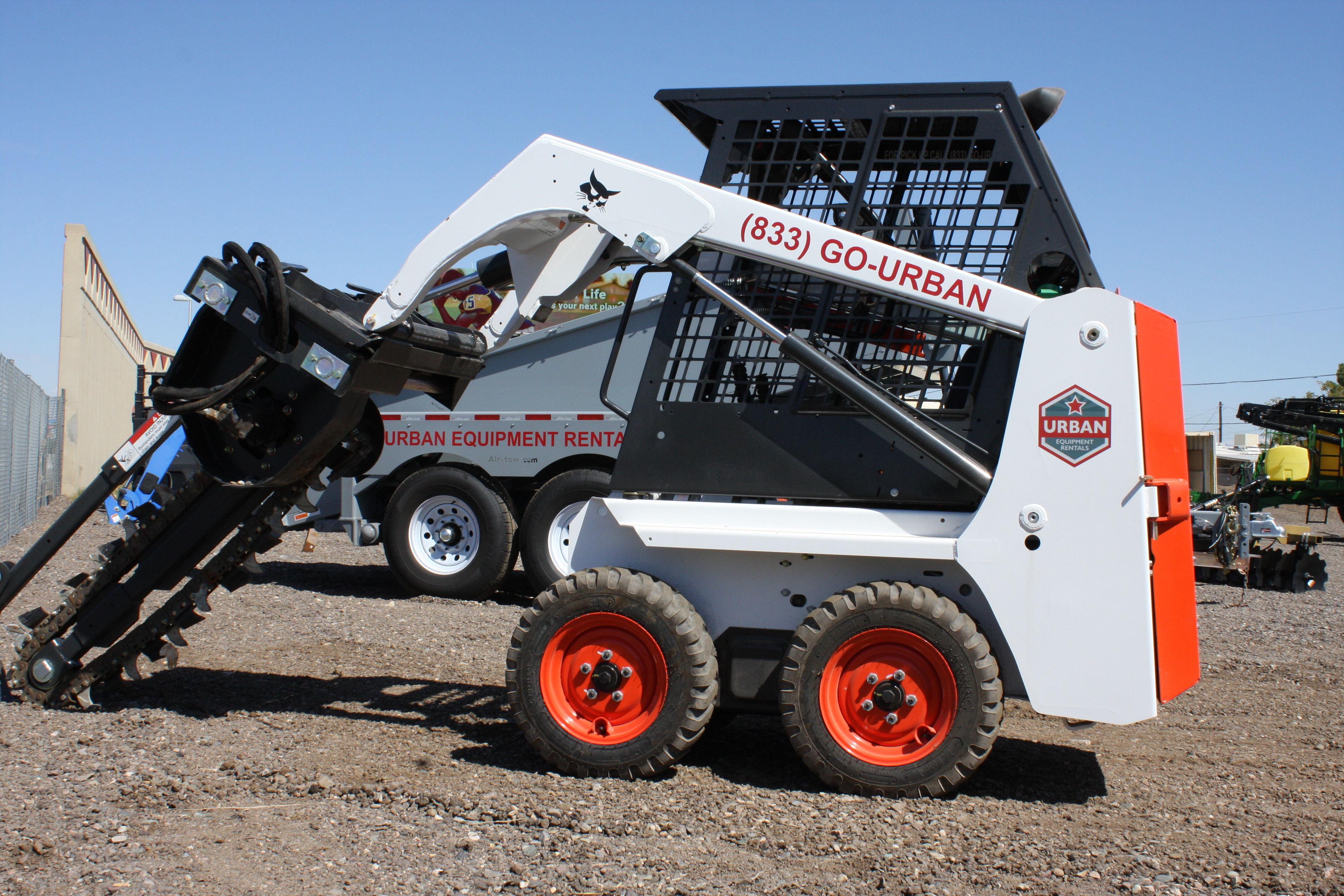 Trencher Rental