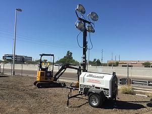 Urban Equipment Rentals Light Tower Almand ProII  9.JPG