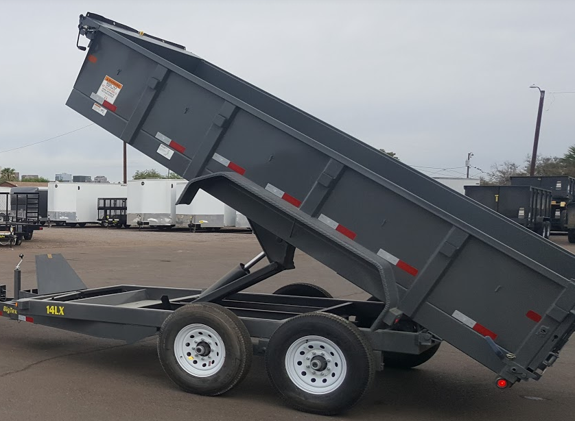 Urban Equipment Rentals Trailer Big Tex 14LX Dump Trailer
