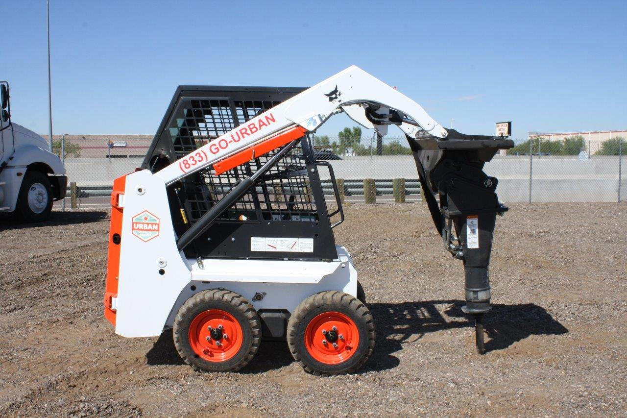 Urban Equipment Rentals Bobcat Mini Skid Steer S70 Hydraulic Breaker Hammer 1