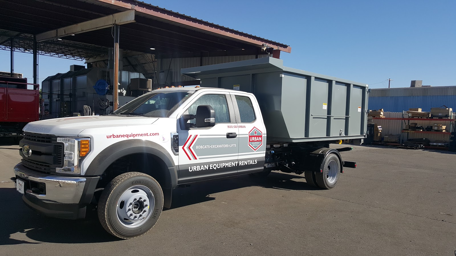 Urban Equipment Rentals F550 Landscape Truck