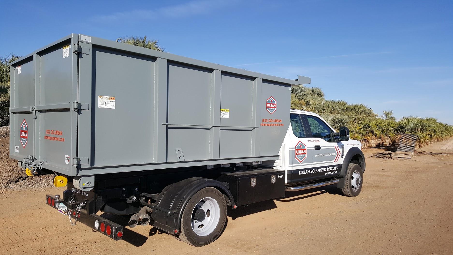 Urban Rents Dump Truck 10-14 Yard Non CDL  1