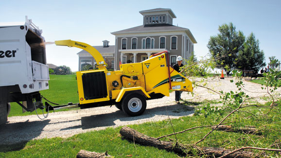 Portable Chipper Trailers