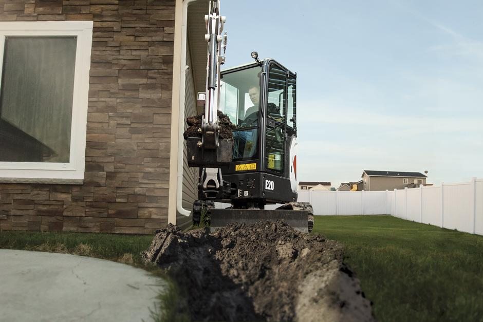 Urban Rents Bobcat E20 Excavator Rental