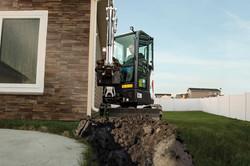 Urban Rents Bobcat E20 Excavator Rental