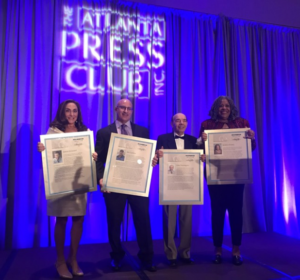 CIS of Atlanta Committee Member Inducted into Atlanta Press Club Hall of Fame