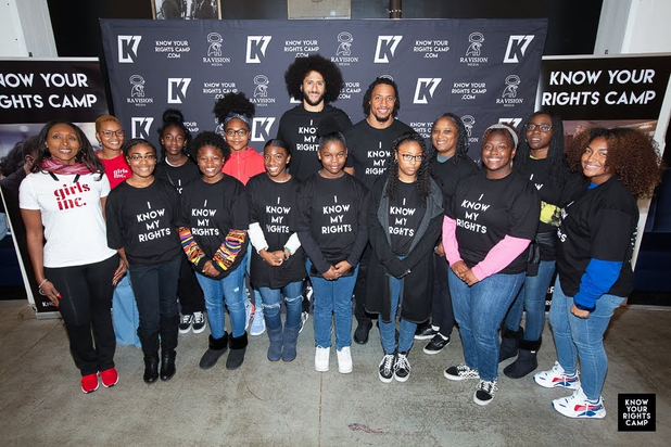 "CIS of Atlanta Students Attend Colin Kaepernick's ""Know Your Rights"" Camp"