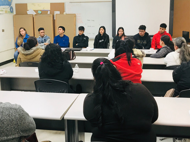 On the Frontline! Cross Keys HS Hosts Monthly Meeting