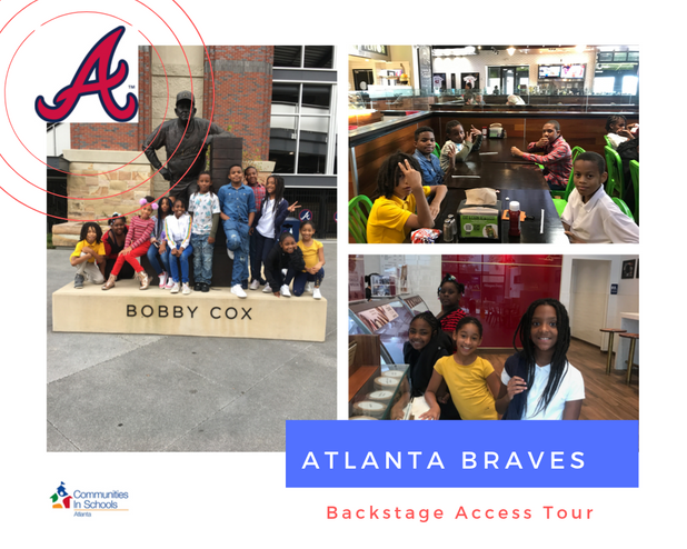 The Atlanta Braves Take CIS of Atlanta Students on Behind-The-Scenes Tour of Suntrust Park