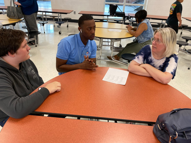 Family Caseload Meet and Greet at Forest Park HS