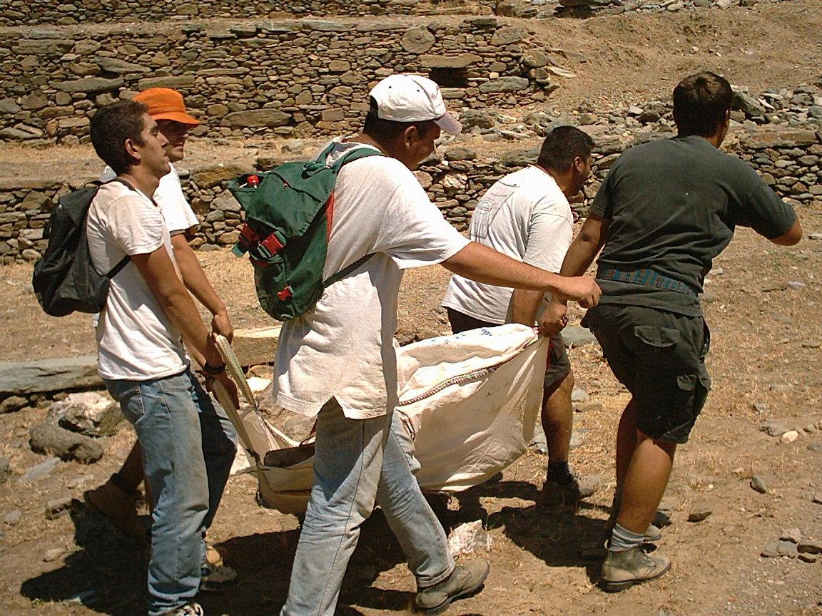 Μεταφέροντας ογκώδες εύρημα, 2002