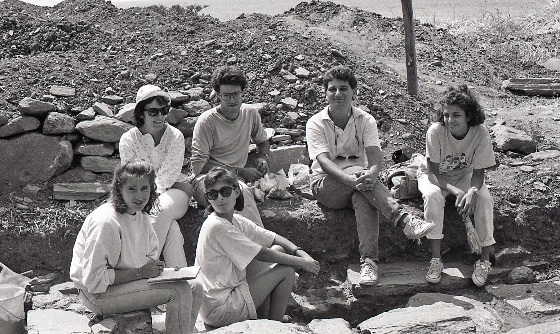 Ανασκαφή στην αγορά, 1988