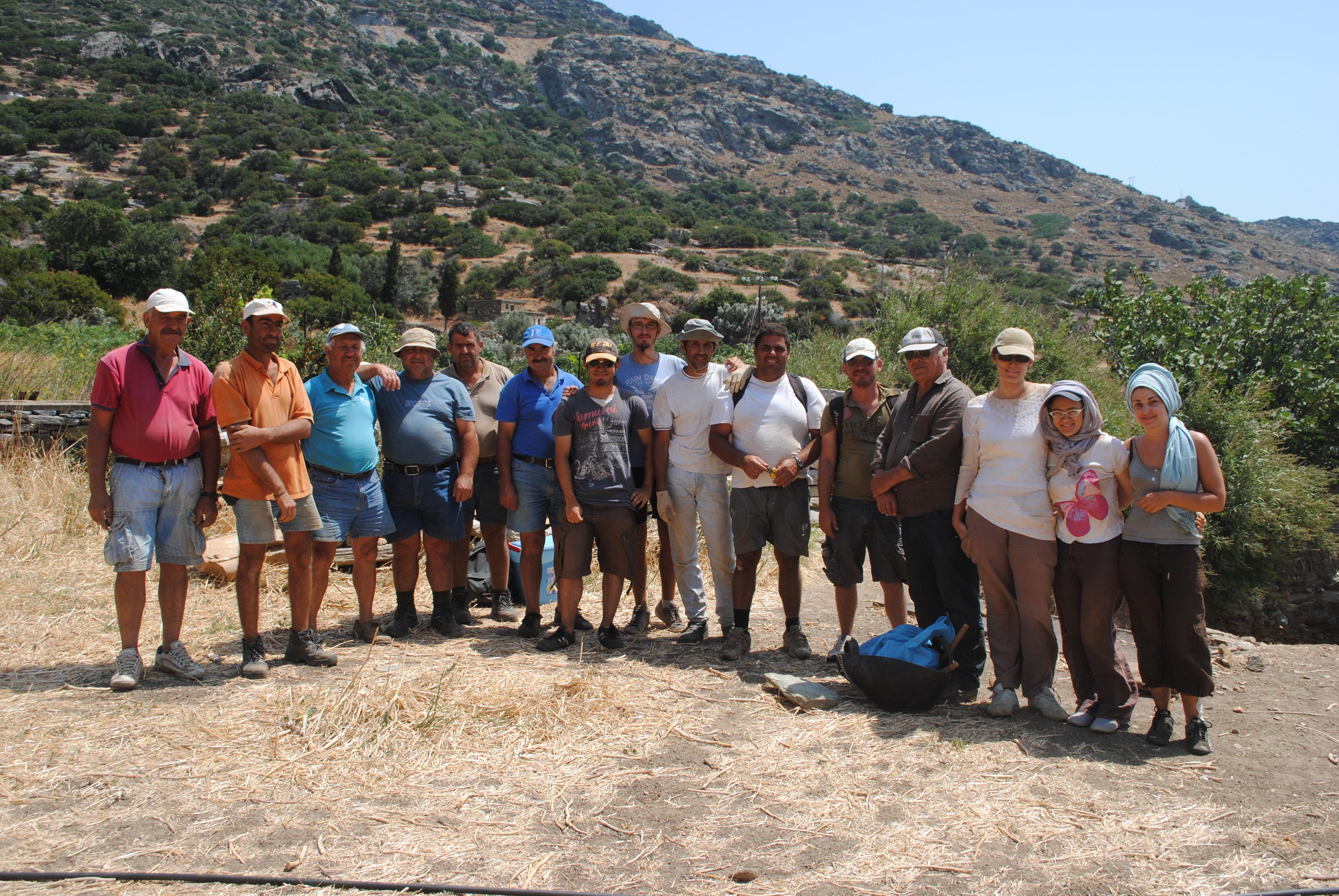 Ανασκαφική ομάδα 2011