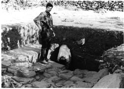 Ανασκαφή 1995, το άνω άνδηρο
