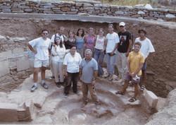 Ανασκαφική ομάδα  2002