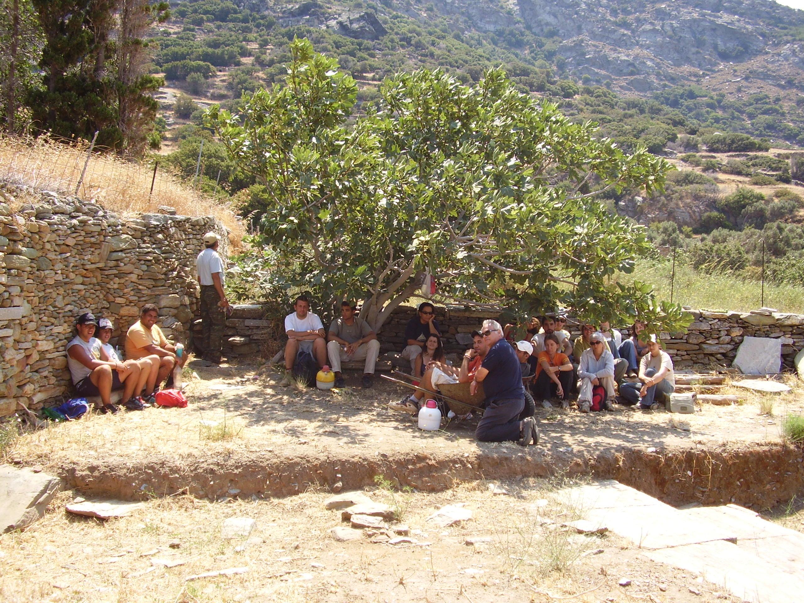 Ανασκαφική ομάδα 2006