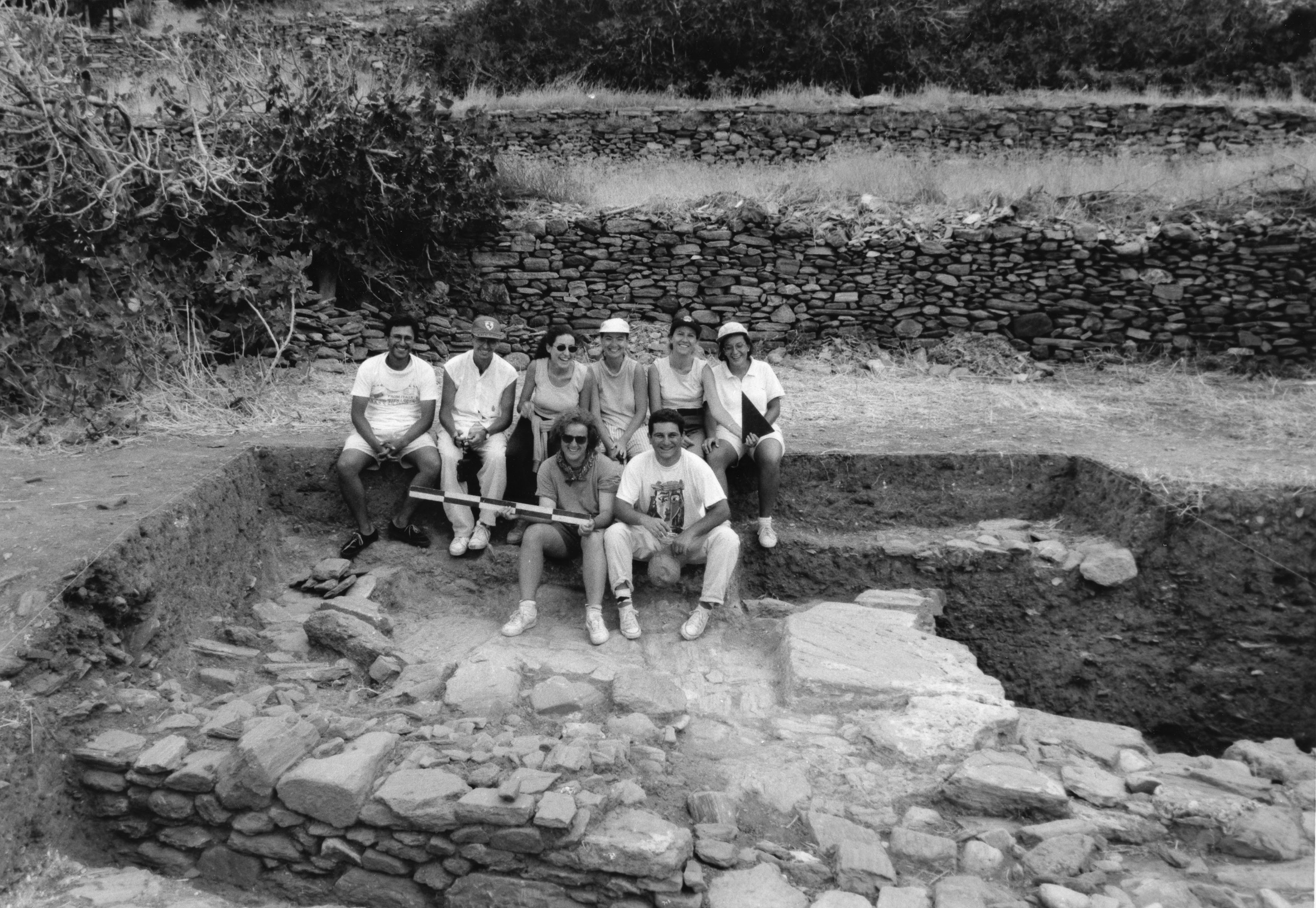 Ανασκαφική ομάδα 1995