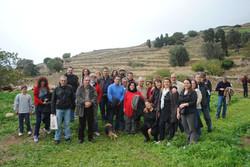 Ξενάγηση στον αρχαιολογικό χώρο, Νοέμβριος 2014