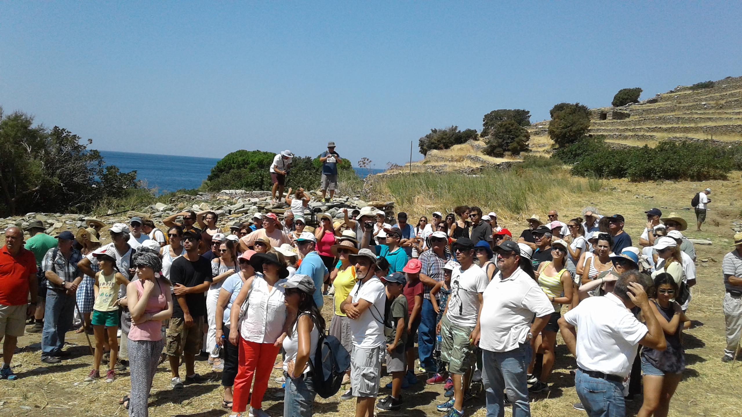 Έκθεση 2017, ξενάγηση στον αρχαιολογικό χώρο,05.08.2017, 2