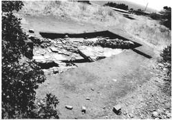 Ανασκαφή στο άνω άνδηρο, 1999