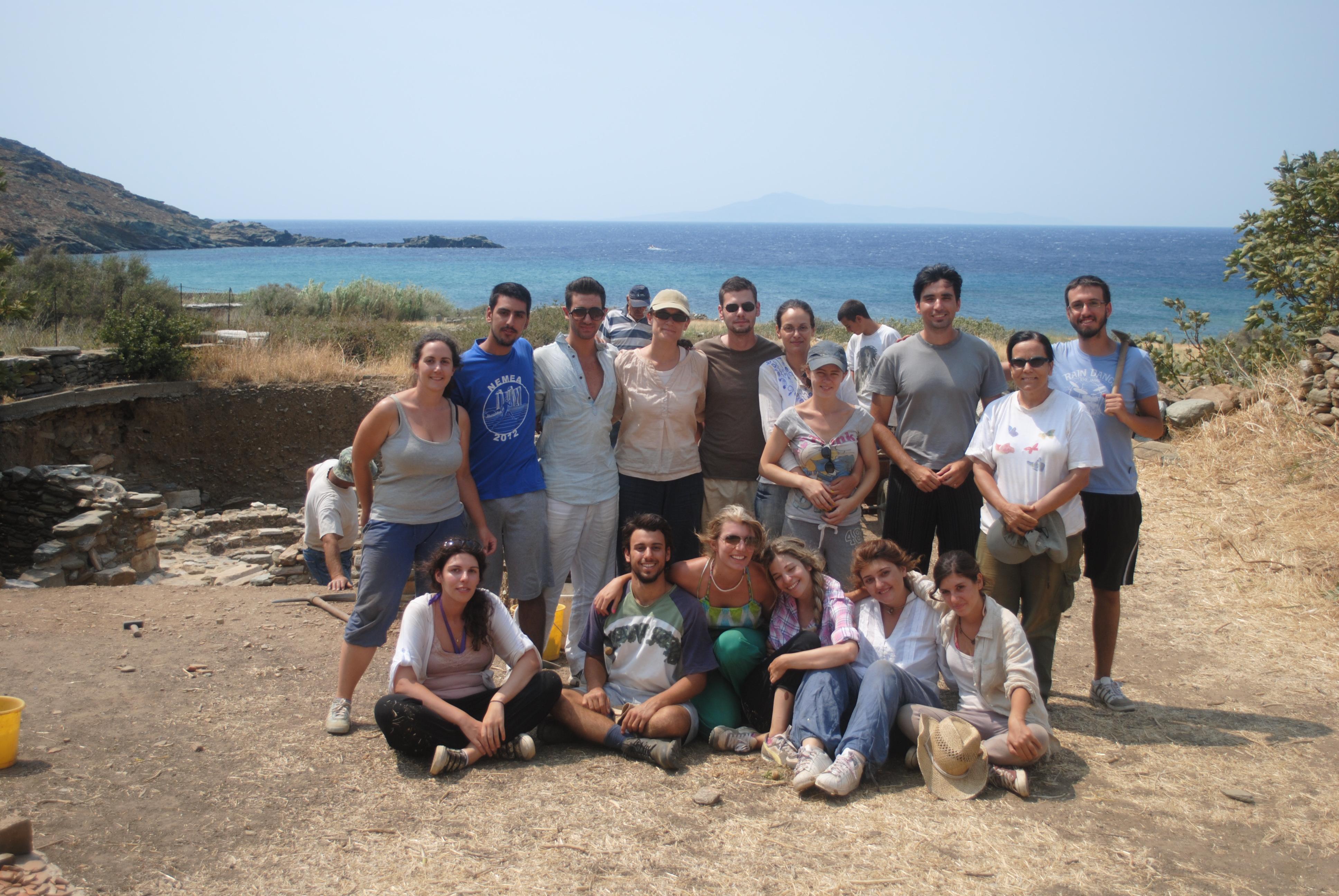 Ανασκαφική ομάδα 2012
