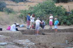 Ανασκαφή στο άνω άνδηρο, 2014