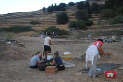 Ανασκαφή 2014, τακτοποίηση ευρημάτων