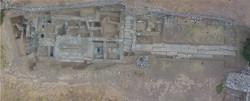 Ορθοφωτογραφία της ανασκαφής στο άνω άνδηρο της αγοράς