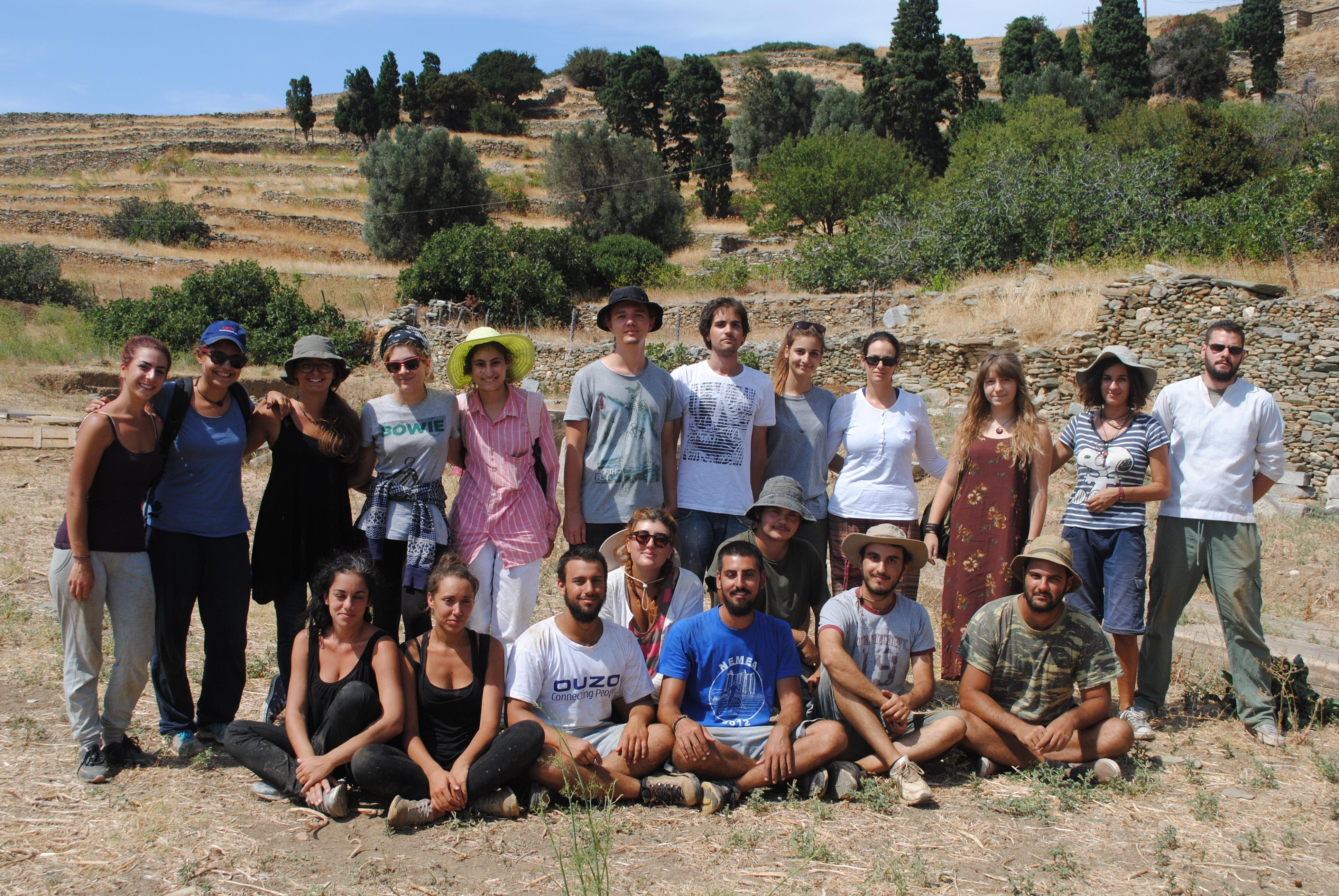 Ανασκαφική ομάδα 1, 2015