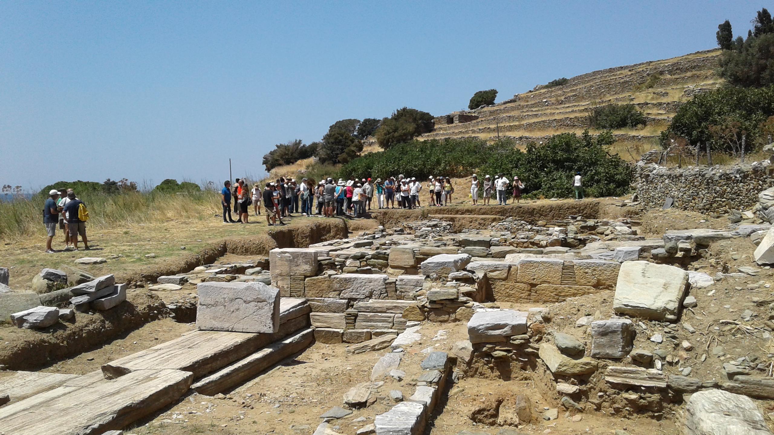 Έκθεση 2017, ξενάγηση στον αρχαιολογικό χώρο 4