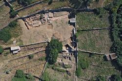 Αεροφωτογραφία της ανασκαφής 2007