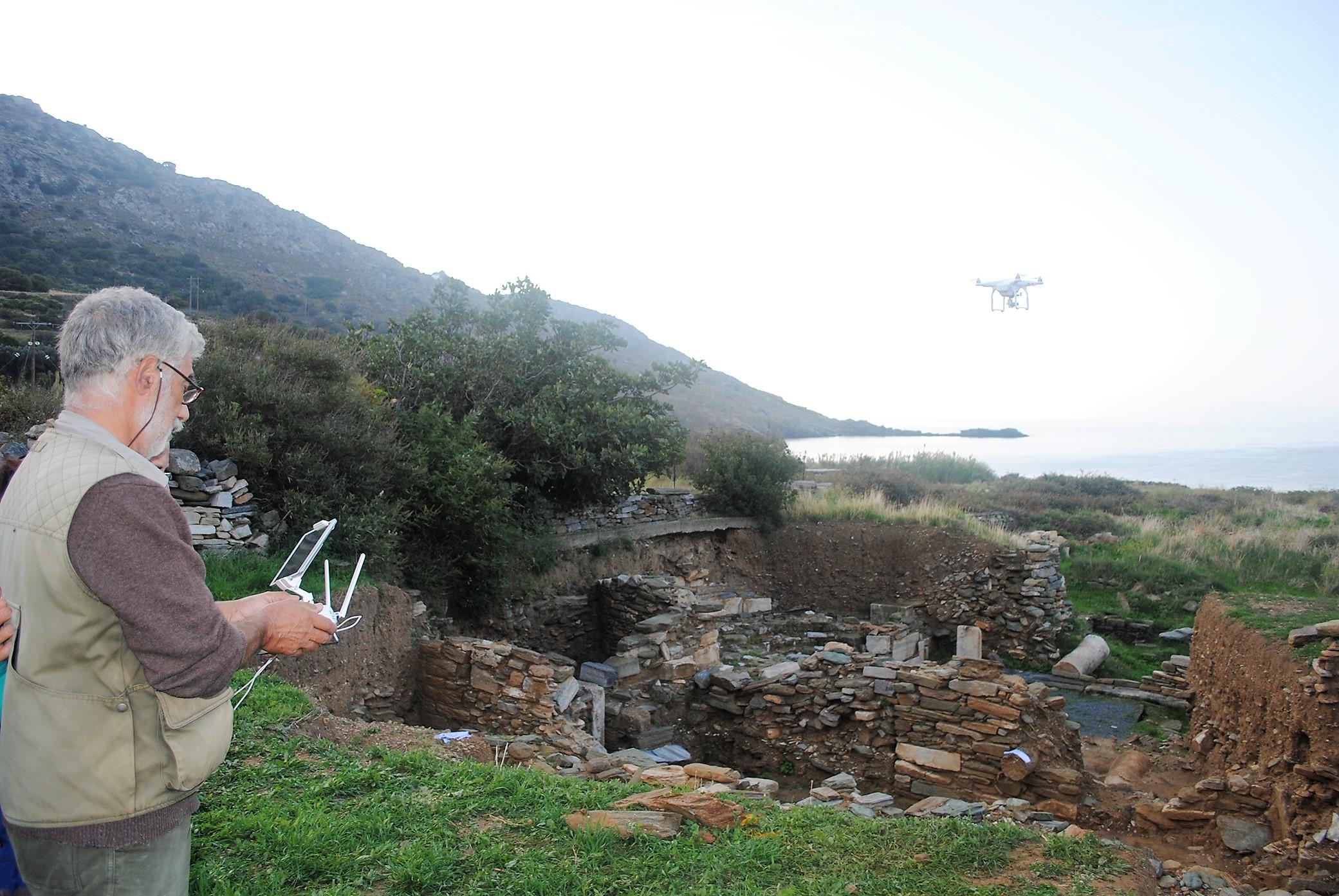 Αεροφωτογράφιση με drone, 2015