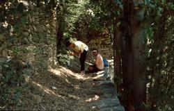 Επιφανειακή έρευνα. Η αρίθμηση αρχαίου τοίχου