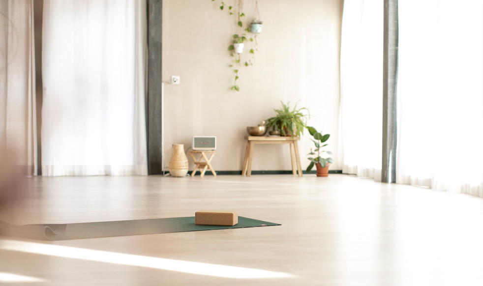 Floor heating secures a comfortable practice even in the wonter months