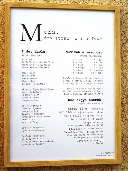 Dialekt - Morsingbomål