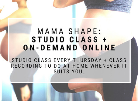 MAMA SHAPE now also on-demand
