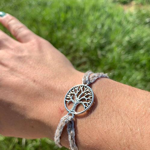 Bracelet - Arbre de vie  bleu