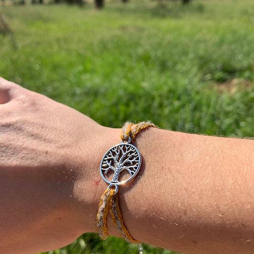 Bracelet - Arbre de vie orange
