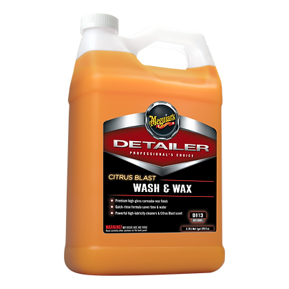Citrus Blast Wash & Wax (1-Gallon)
