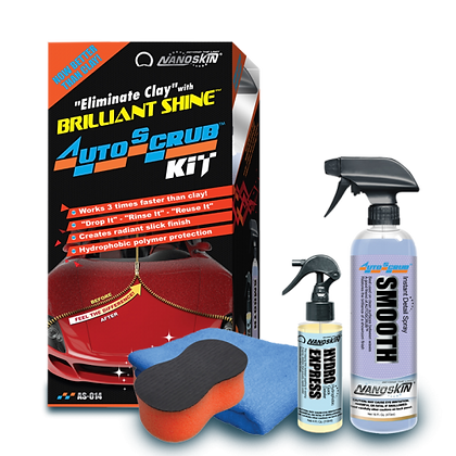 Autoscrub Kit - Eliminate Clay with Brilliant Shine