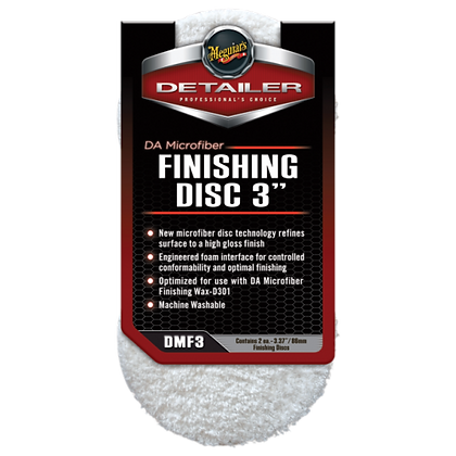 "DA Microfiber Finishing Disc 3"" (2-Pack)"