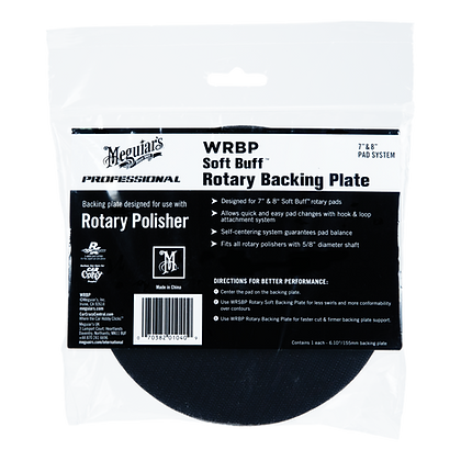 SOFT BUFF Rotary Backing Plate