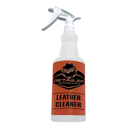 Leather Cleaner Bottle