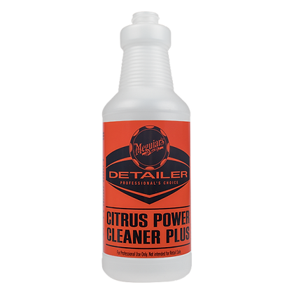Citrus Power Cleaner Secondary Bottle