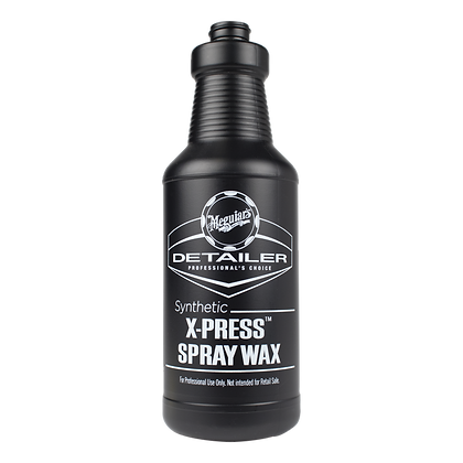 Secondary Bottle - Synthetic X-Press Spray Wax