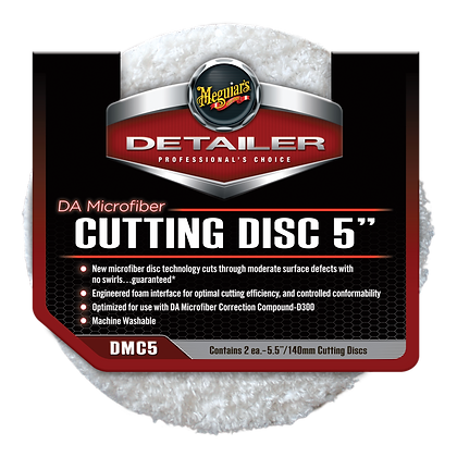"DA Microfiber Cutting Pad 5"" (2-Pack)"