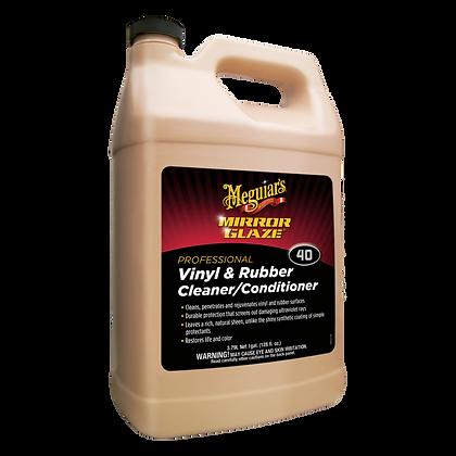 MIRROR GLAZE Vinyl & Rubber Cleaner/Conditioner (1 Gallon)