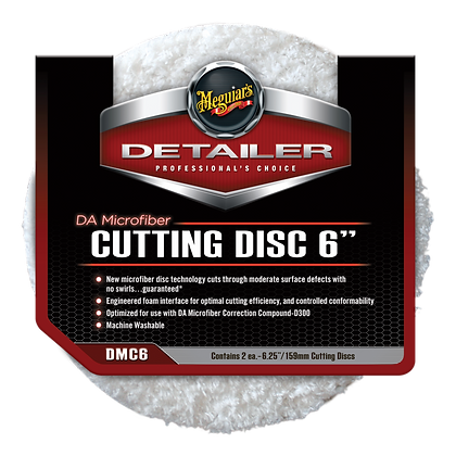 "DA Microfiber Cutting Disc 6"" (2-Pack)"